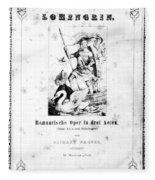 Wagner Lohengrin, 1850 Fleece Blanket