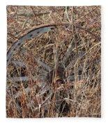 Wagon Wheel_7438 Fleece Blanket