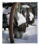 Wagons West Fleece Blanket