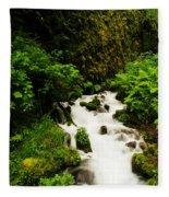 Wahkeena Creek Fleece Blanket