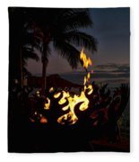 Waikiki Rumfire Fleece Blanket