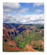 Waimea Canyon Fleece Blanket