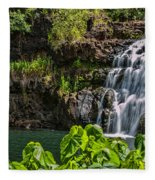 Waimea Falls Fleece Blanket