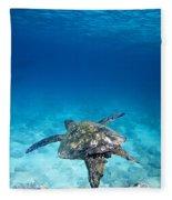 Turtle Soar Fleece Blanket