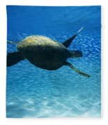 Waimea Turtle Fleece Blanket