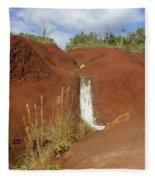 Waimea Waterfall Fleece Blanket