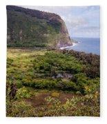 Waipi'o Valley Fleece Blanket