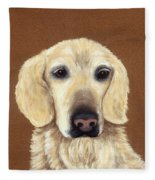 Waiting Fleece Blanket