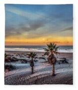 Wake Up For Sunrise In California Fleece Blanket
