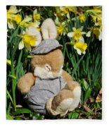 Wake Up It's Springtime Fleece Blanket