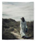 Walk In The Wind Fleece Blanket
