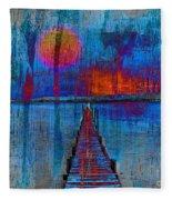 Walk On Water 03 Fleece Blanket
