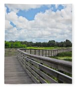 Walk On Wetlands Fleece Blanket