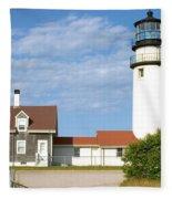 Walk To The Lighthouse Fleece Blanket