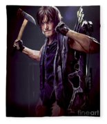 Walking Dead - Daryl Dixon Fleece Blanket