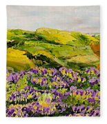 Walking Hills Fleece Blanket