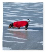 Walking On Water Fleece Blanket
