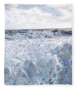 Walking On Water I Fleece Blanket