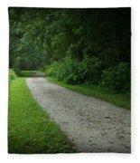 Walking Path Fleece Blanket