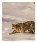 Walking Softly Fleece Blanket