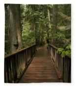 Walkway Into Paradise Fleece Blanket