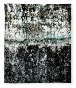 Wall Abstract 12  Fleece Blanket