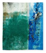 Wall Abstract 159 Fleece Blanket