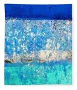 Wall Abstract 23 Fleece Blanket