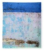 Wall Abstract 25 Fleece Blanket