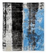 Wall Abstract 34 Fleece Blanket