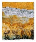 Wall Abstract 36 Fleece Blanket