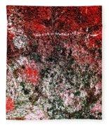 Wall Abstract 38 Fleece Blanket