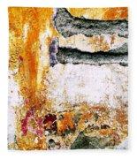 Wall Abstract 62 Fleece Blanket