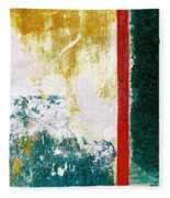 Wall Abstract 71 Fleece Blanket