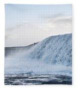 Wall Of Water Fleece Blanket
