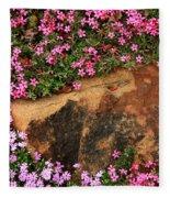 Wallflowers 3 Fleece Blanket