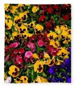 Wallflowers Fleece Blanket