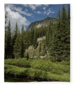 Wallowas - No. 1 Fleece Blanket