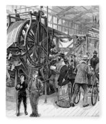 Wallpaper Printing, 1876 Fleece Blanket