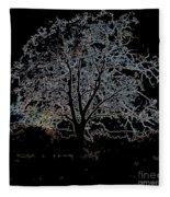 Walnut Tree Series Glowing Edges Fleece Blanket