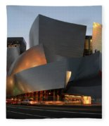 Walt Disney Concert Hall 21 Fleece Blanket