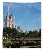 Walt Disney World Orlando Fleece Blanket