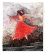Waltz Fleece Blanket