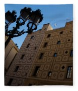 Wandering Around The Streets Of Barcelona Spain Fleece Blanket