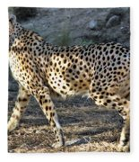 Wandering Cheetah Fleece Blanket