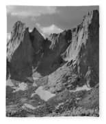 109646-war Bonnet And Warrior 1, Wind Rivers Fleece Blanket