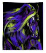 War Horse Fleece Blanket