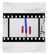 War Painting Fleece Blanket