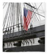 War Ship Fleece Blanket