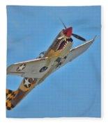 Warhawk Fighter Fleece Blanket